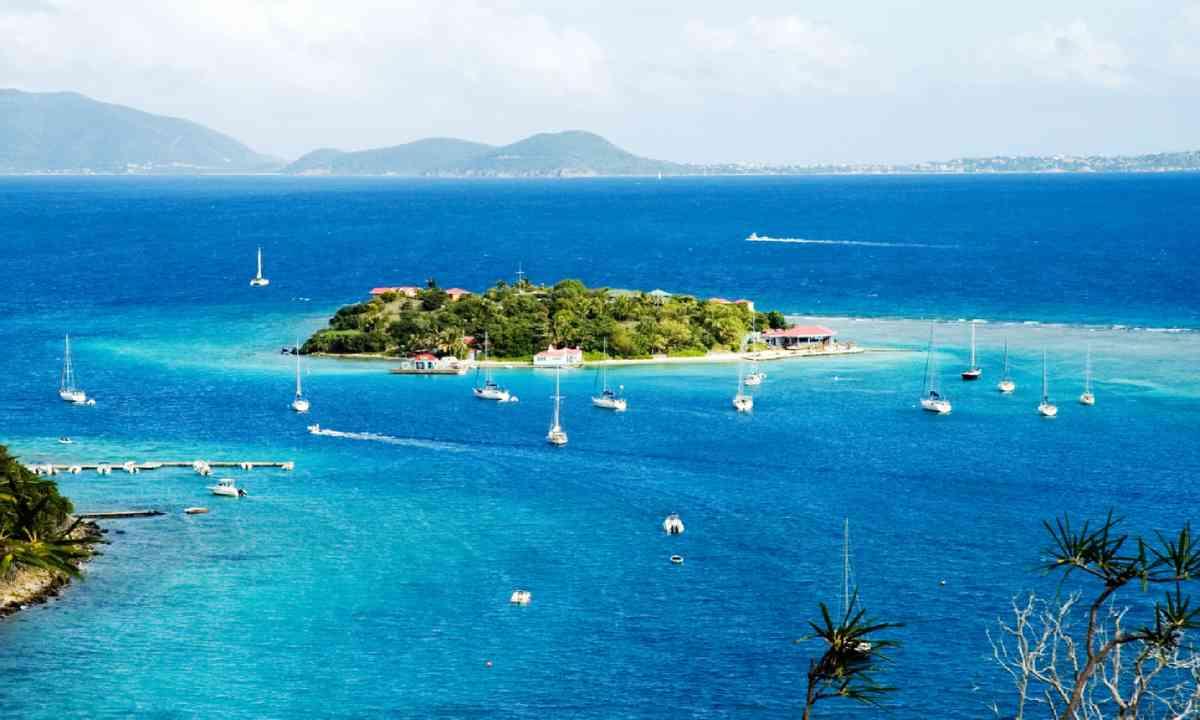 View to Marina Cay and Virgin Gorda, British Virgin Islands (Shutterstock)