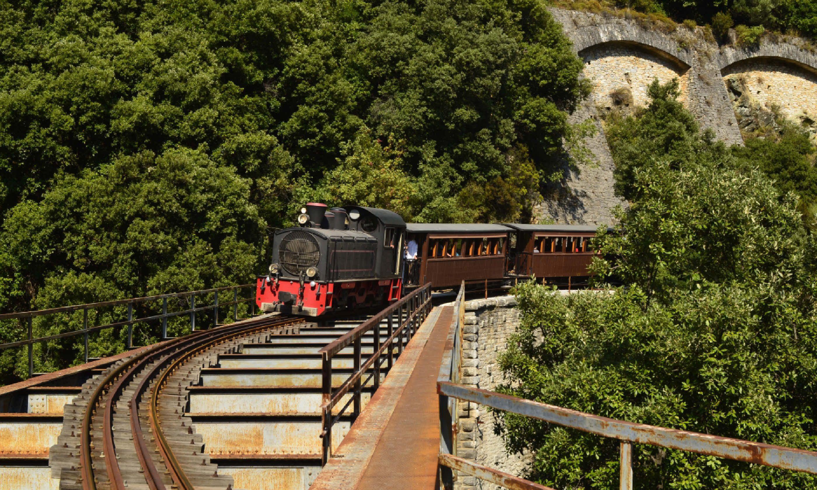 Pelion train (Shutterstock)