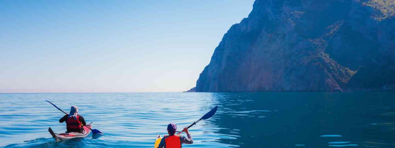 Kayaking in Greece (Shutterstock)