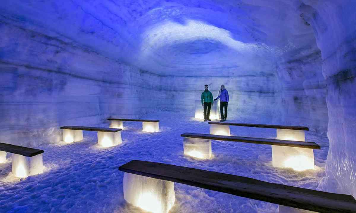Inside Langjokull glacier (Photo: Into the Glacier)