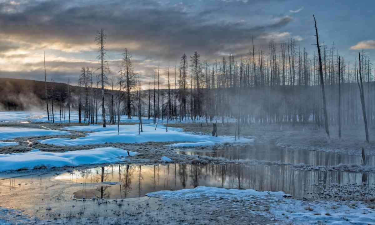Dawn in Yellowstone National Park (Shutterstock)