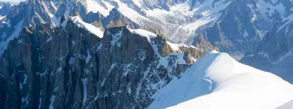 Mont Blanc mountaineers (Shutterstock)