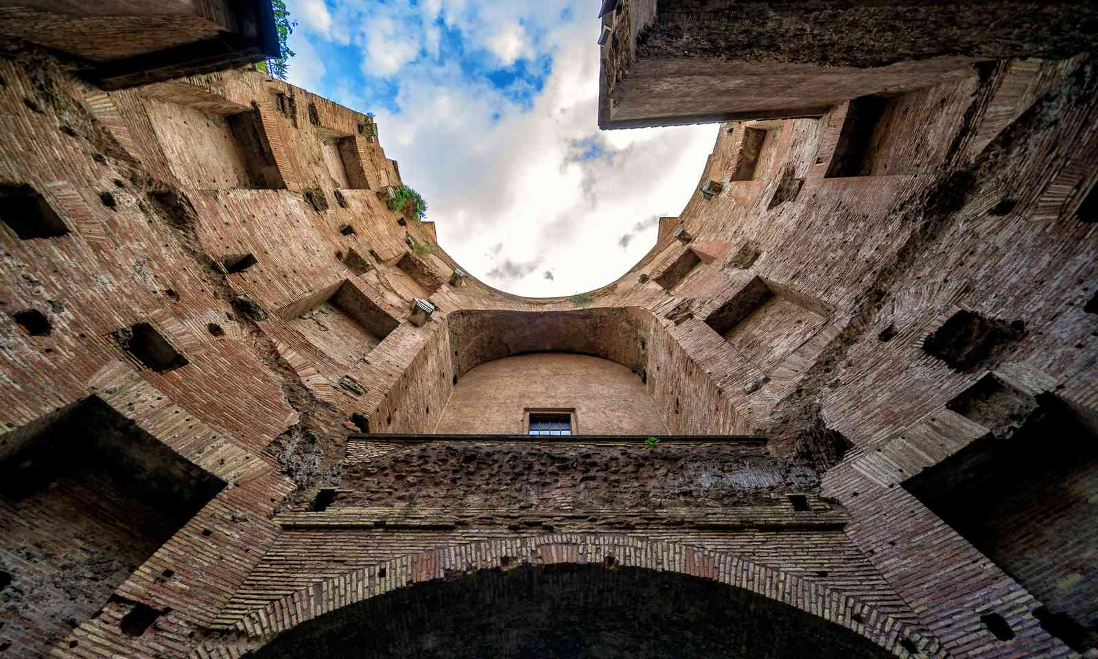 The ruins of the Baths of Diocletian (Shutterstock.com)