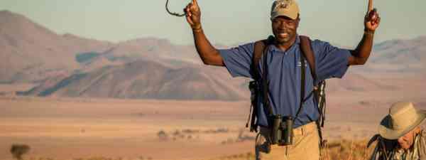 Silver award winner Orlando in Namibia