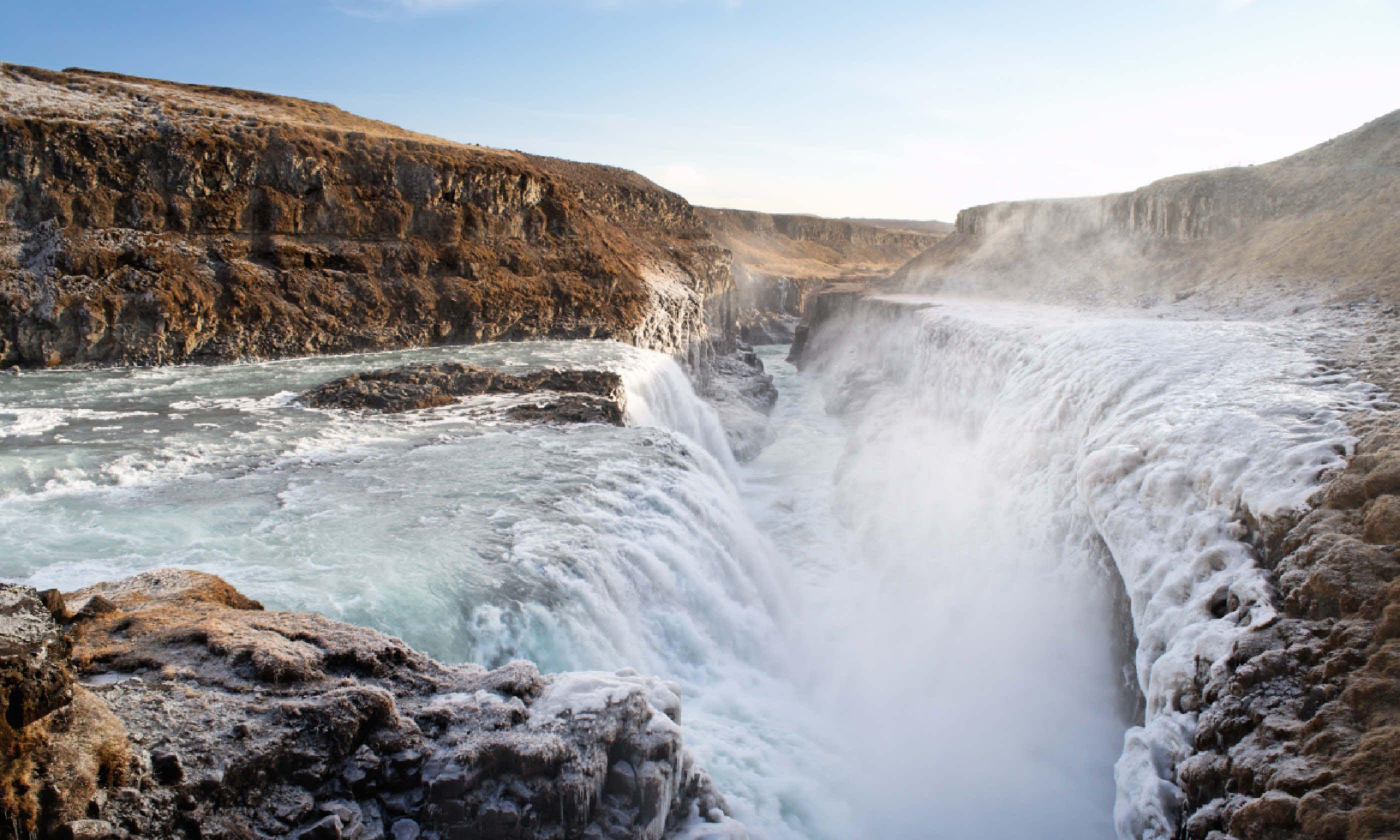 Gulfoss, Iceland (Shutterstock)