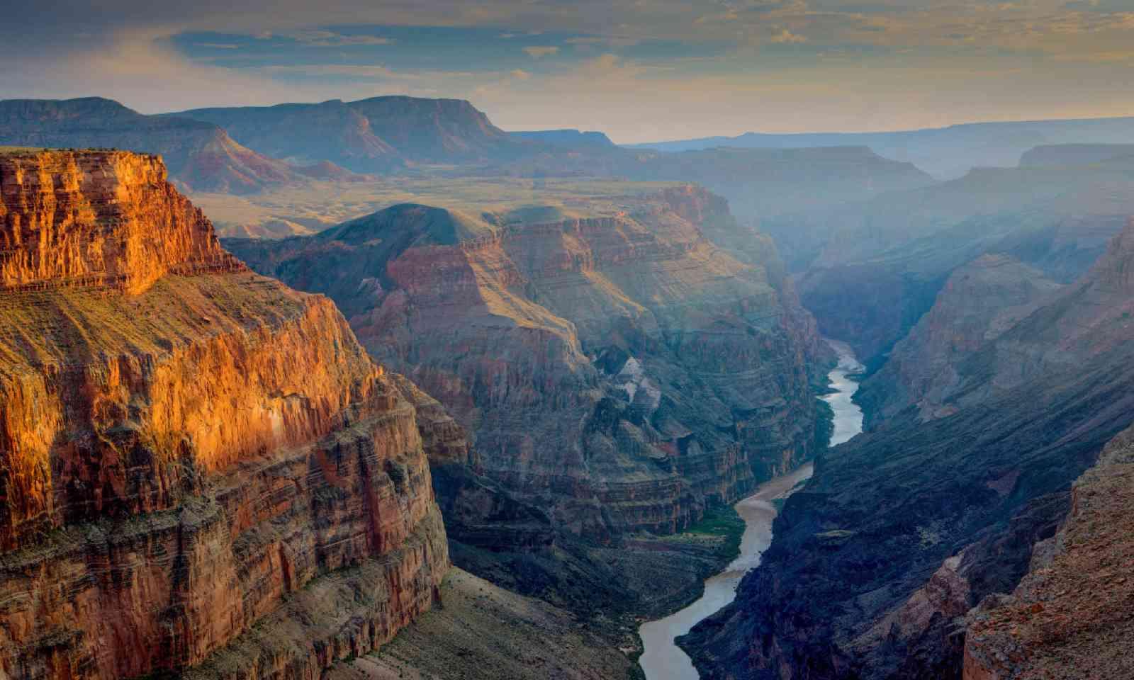 Sunset at Toroweap, Grand Canyon National Park (Shutterstock)