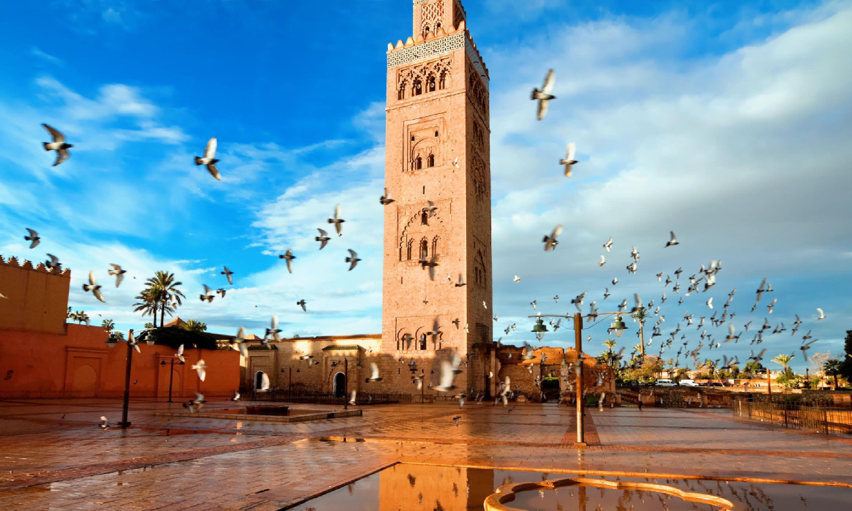 Koutoubia mosque, Marrakech (Shutterstock)