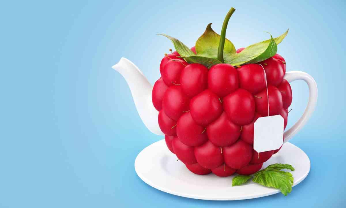 Raspberry teapot (Shutterstock)
