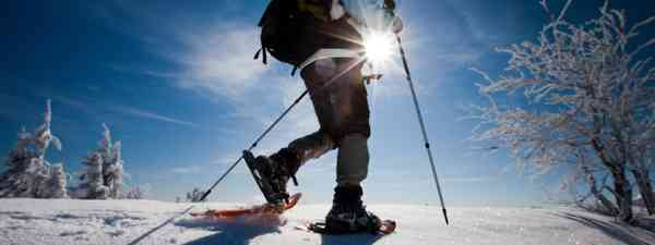 Snowshoeing in the mountains (Shutterstock)
