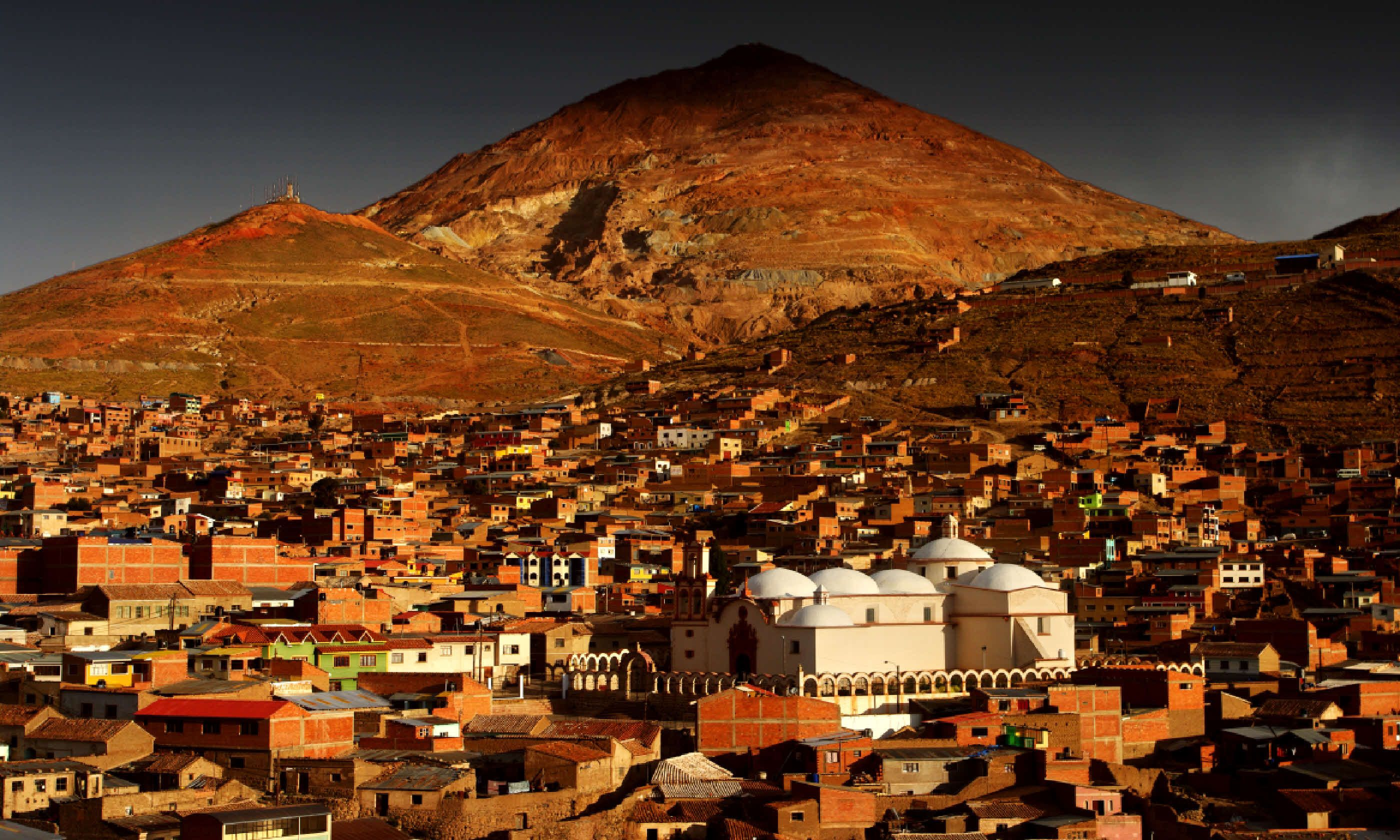 Potosi and its mines, Bolivia (Shutterstock)