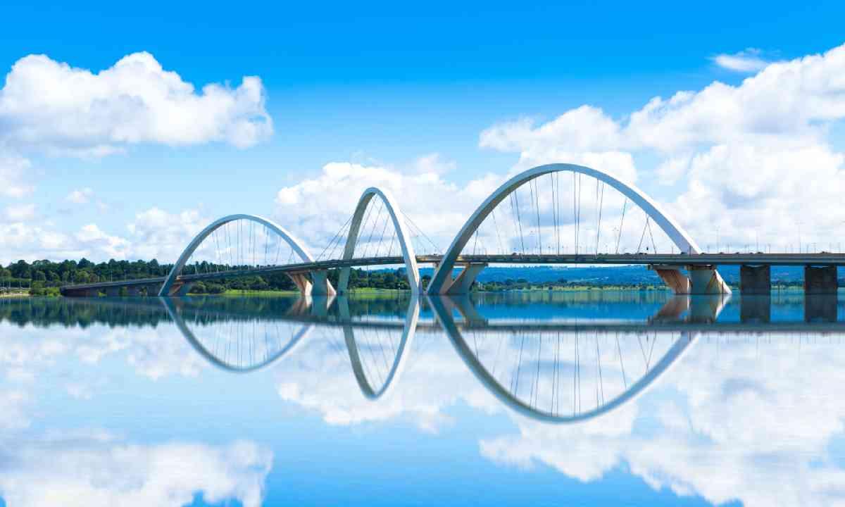 JK Bridge in Brasilia, Brazil (Shutterstock)