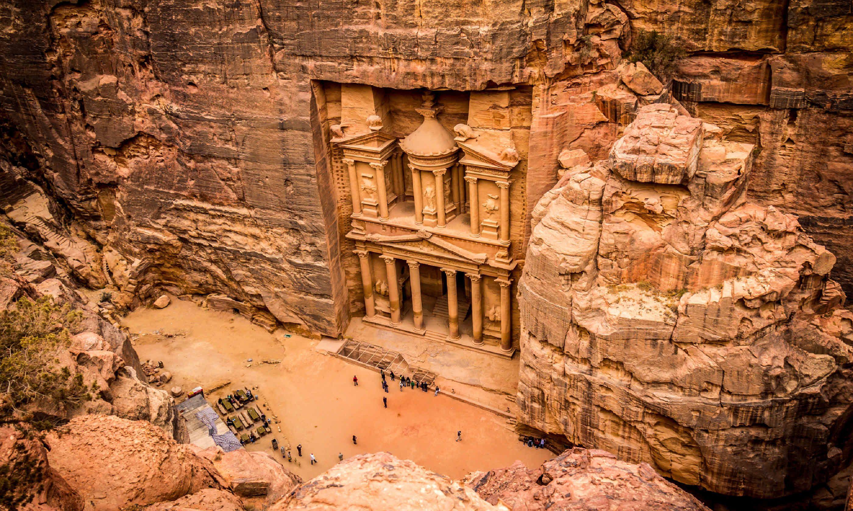 Petra, Jordan (Shutterstock)