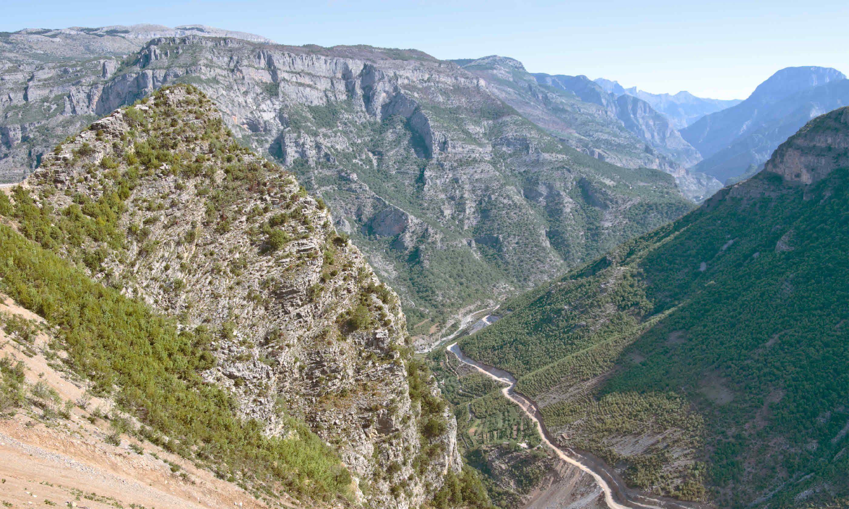 Kelmend Valley - Albania (Shutterstock)