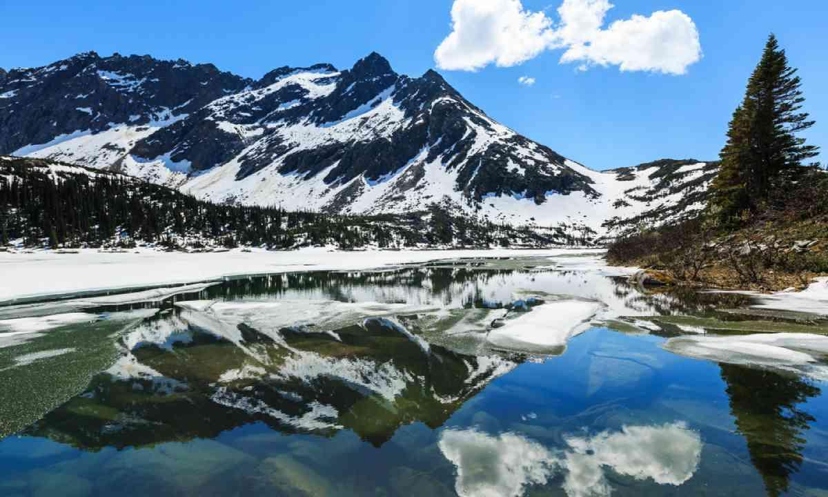 Upper Dewey lake, Alaska (Shutterstock)