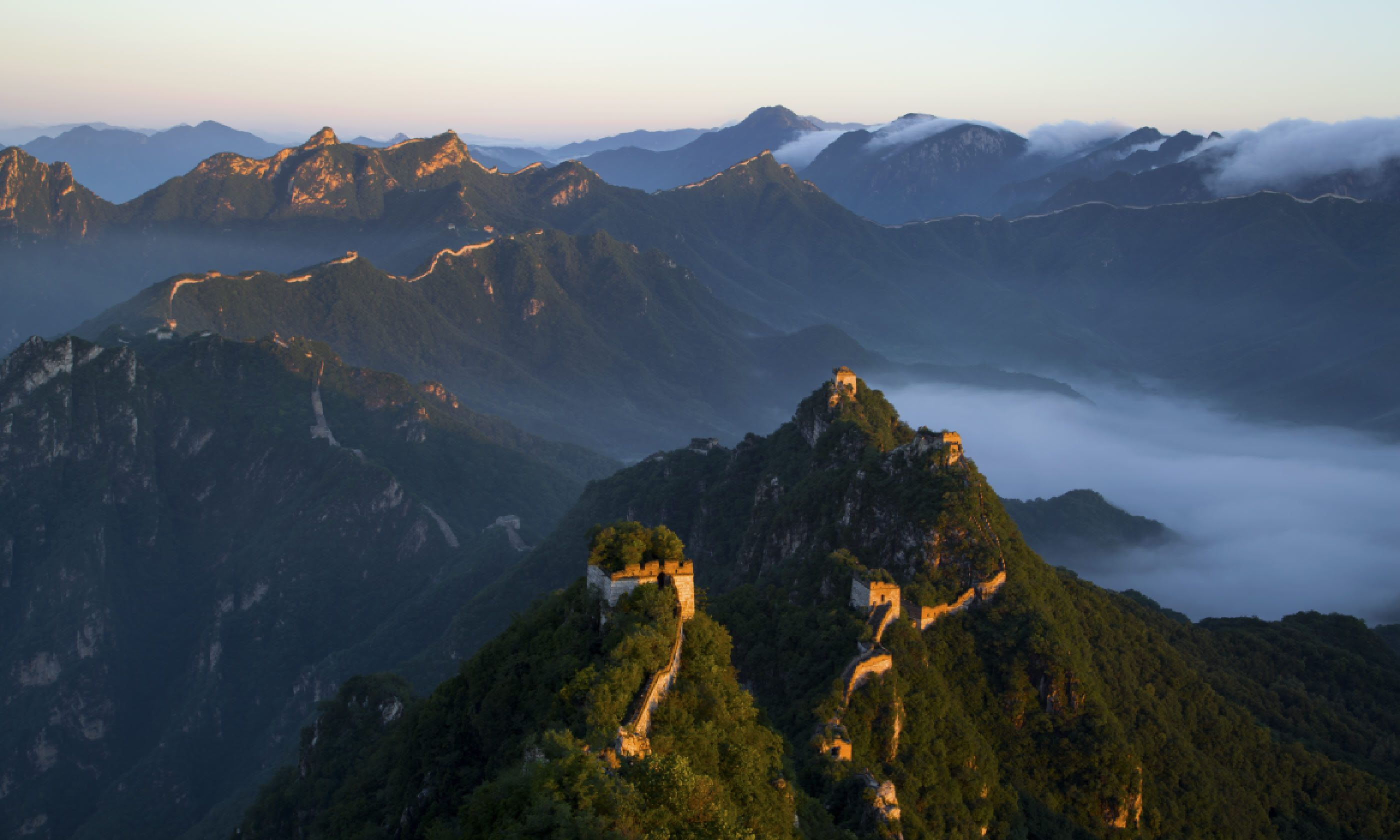 China's Great Wall (Shutterstock)