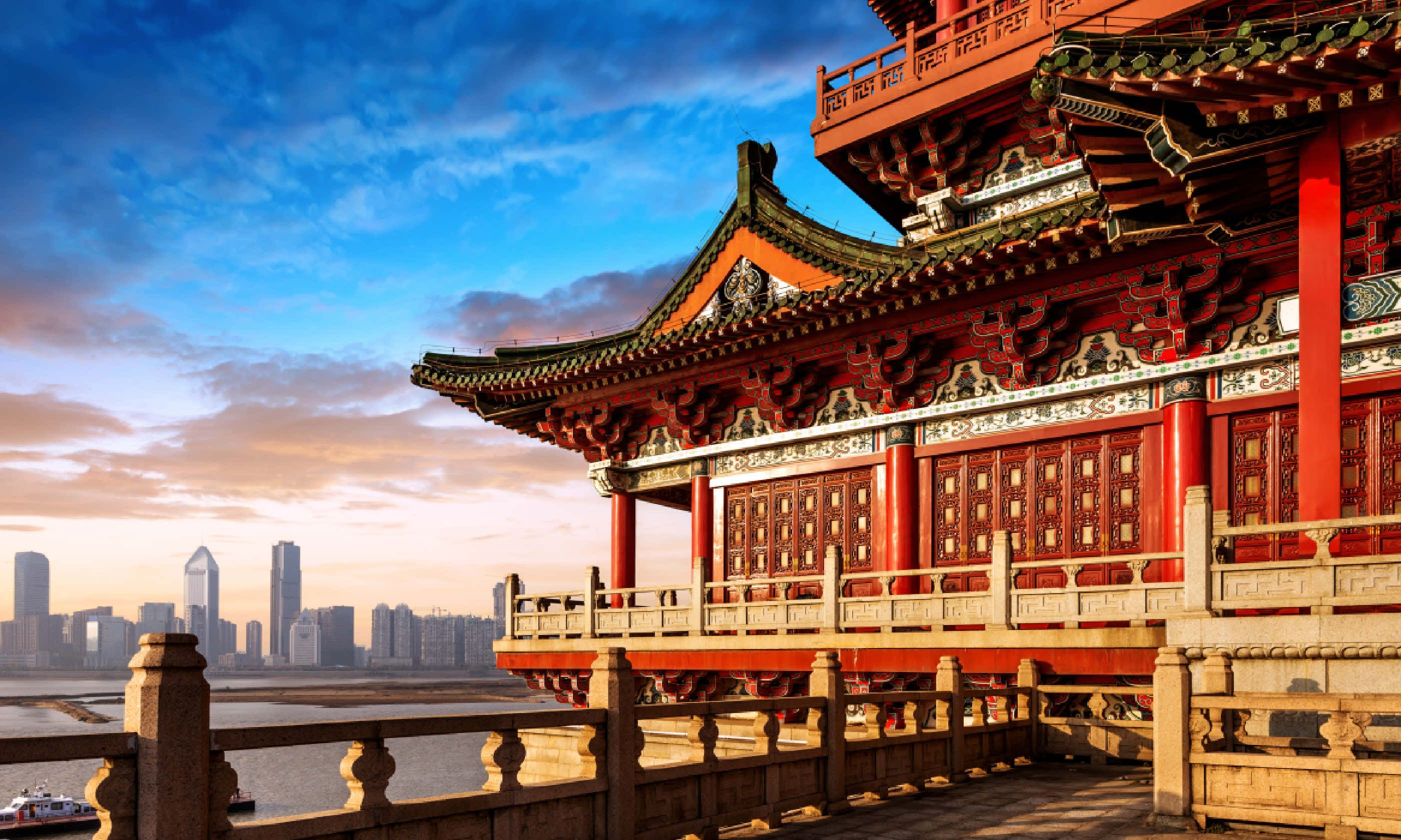 Dusk in Beijing (Shutterstock)