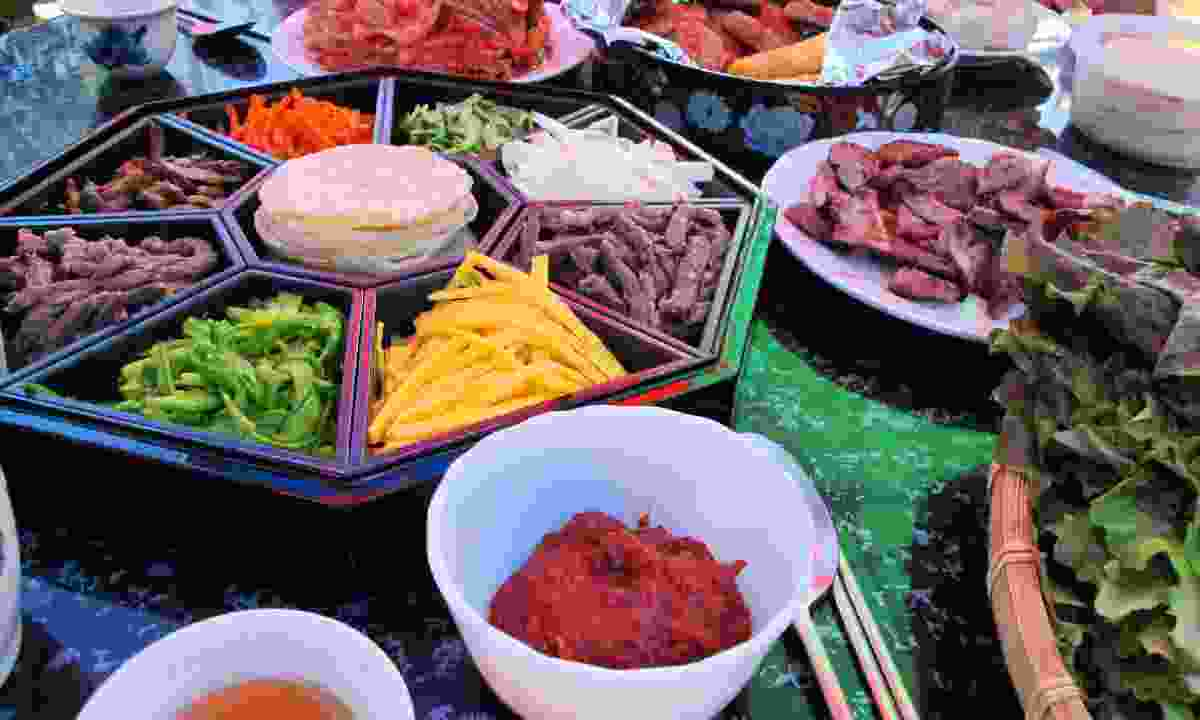 Korean market (Dreamstime)