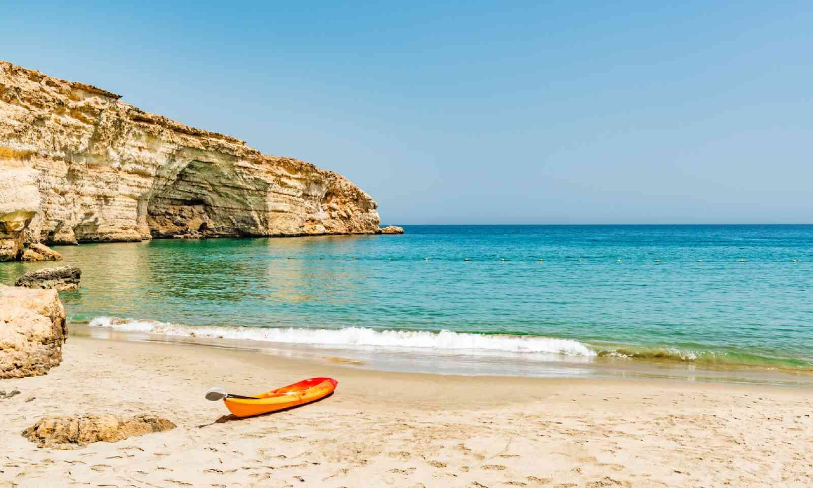 Beach at Barr Al Jissah in Oman (Shutterstock)