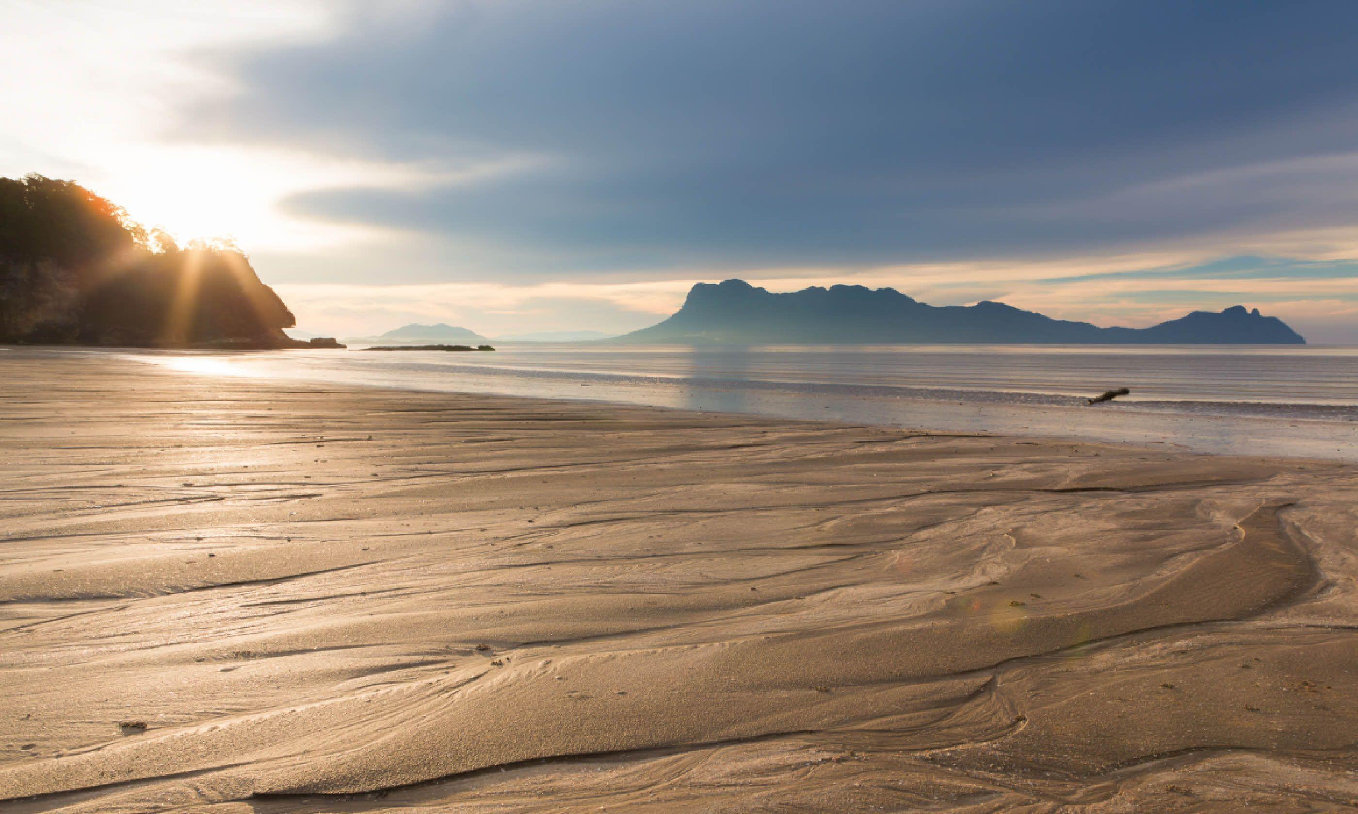 Beach at Bako National Park (Shutterstock)