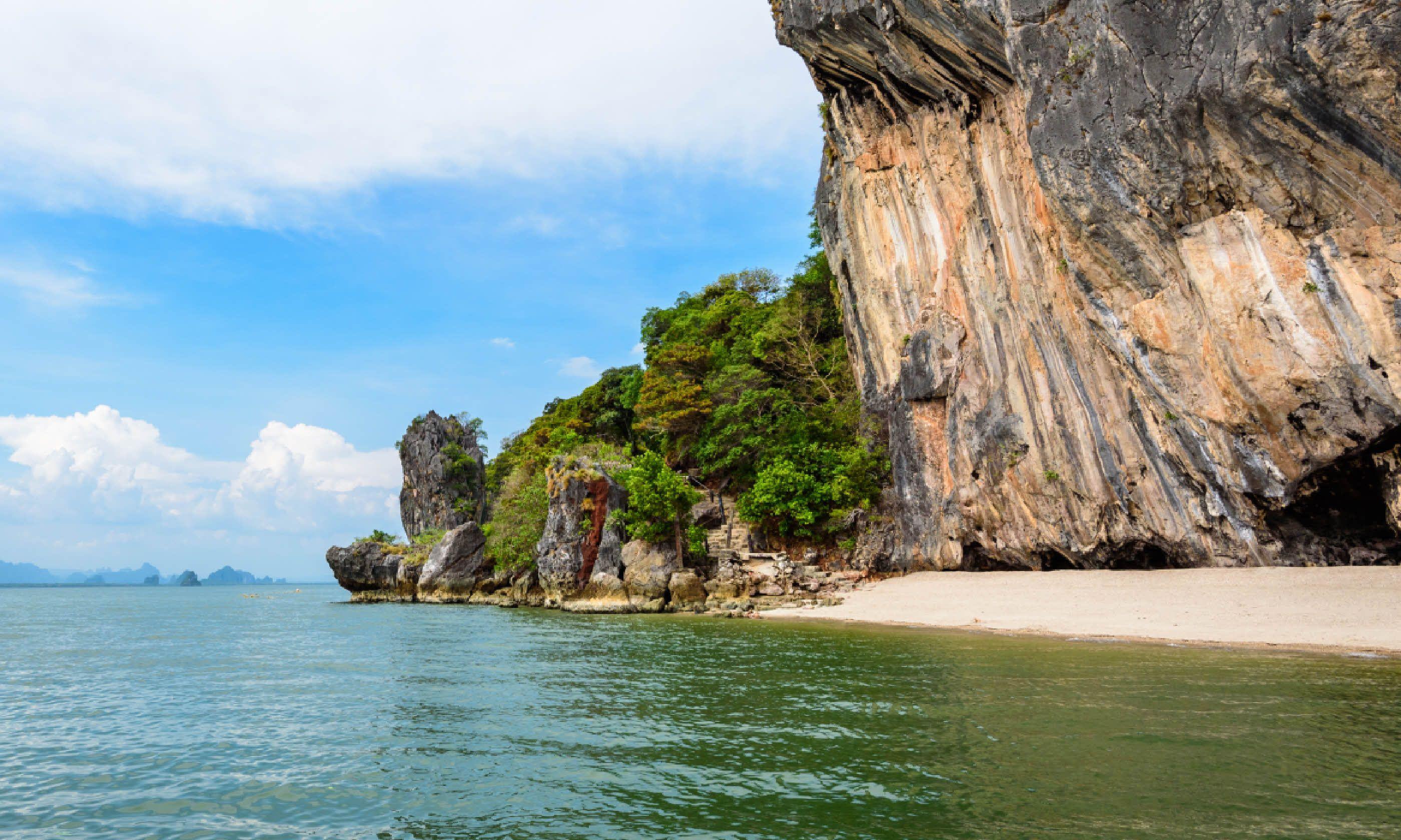 Ao Phang Nga Bay National Park, Thailand (Shutterstock)