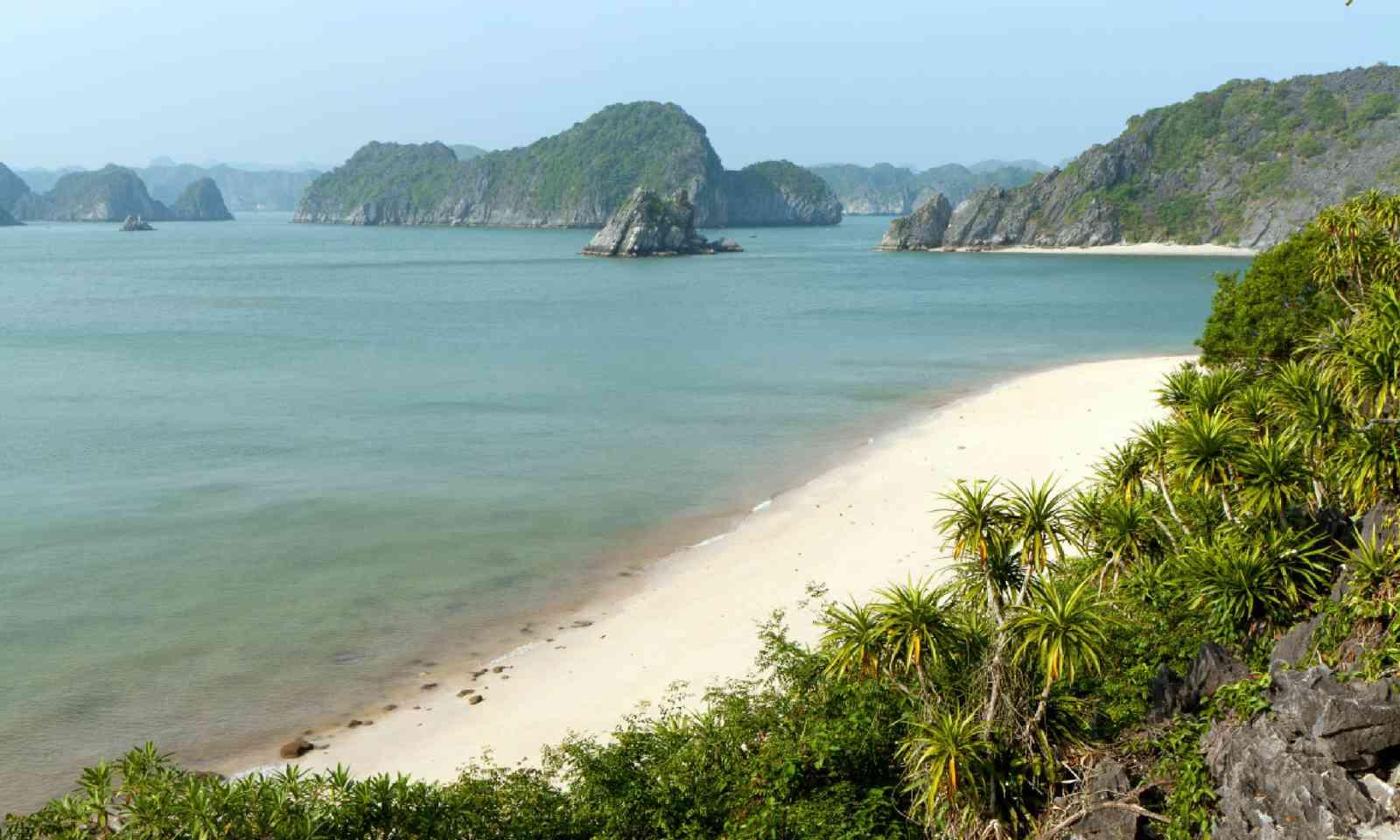 Lan Ha Bay in Vietnam (Shutterstock)
