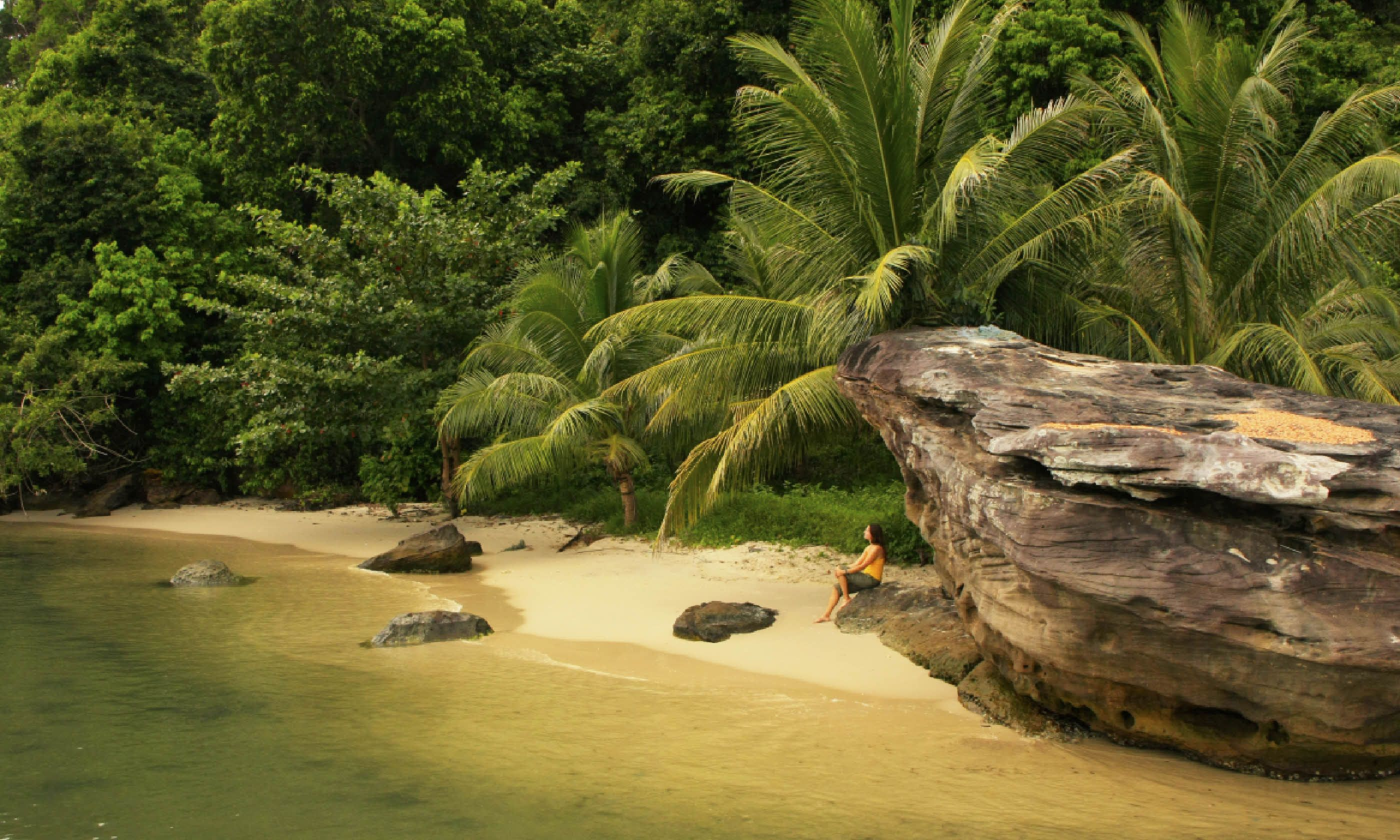 Small beach at Ream National Park, Cambodia (Shutterstock)