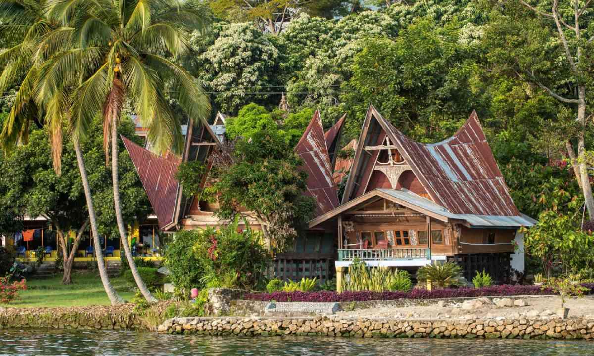 Batak house on Samosir Island (Shutterstock)