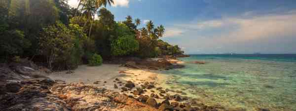 Beautiful beach view in Perhentian Island, Malaysia (Shutterstock)
