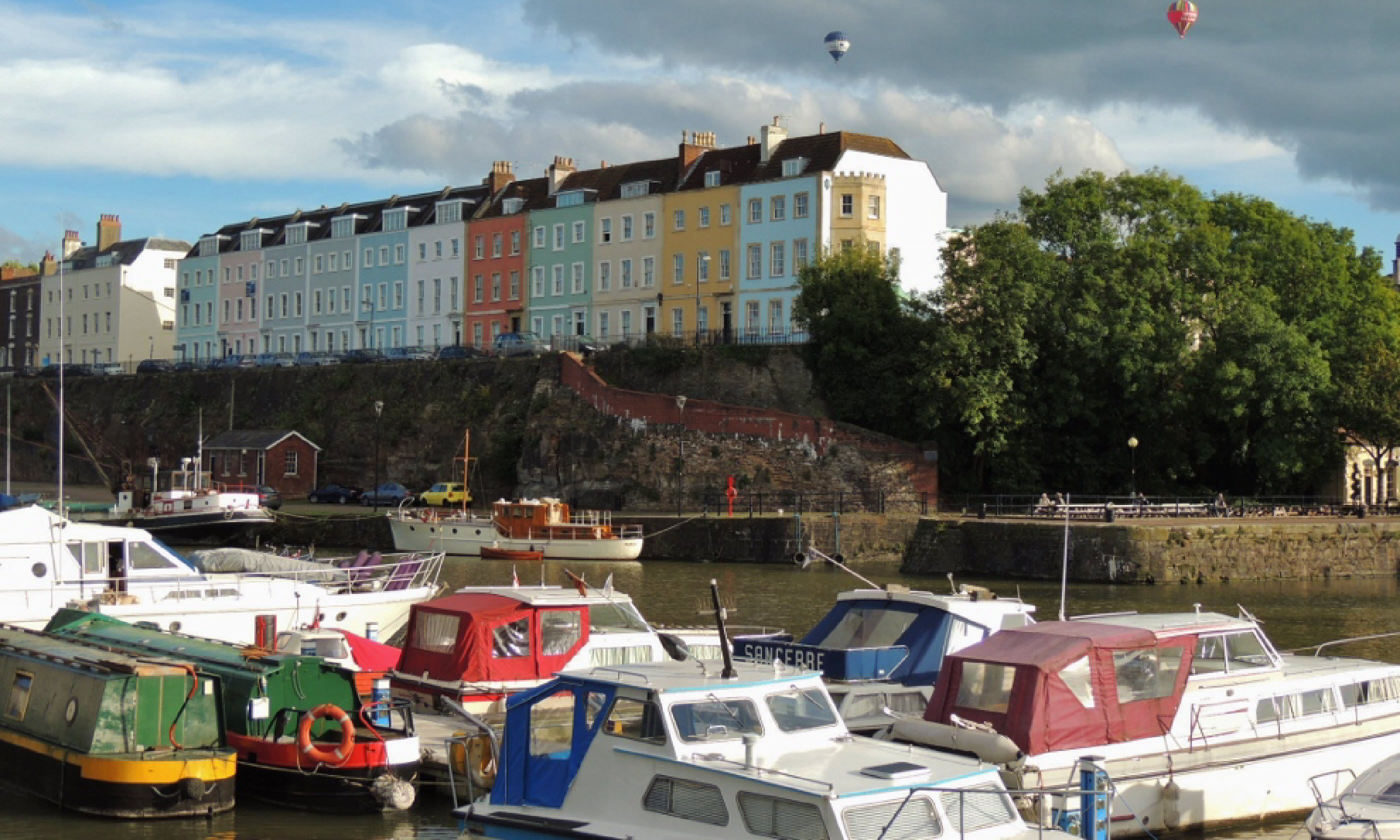 Boats in Bristol (Polly Allen)