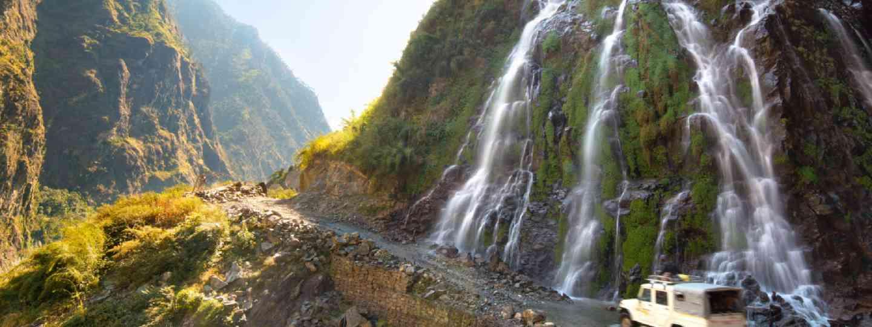 Roadside waterfall, Nepal (Shutterstock)