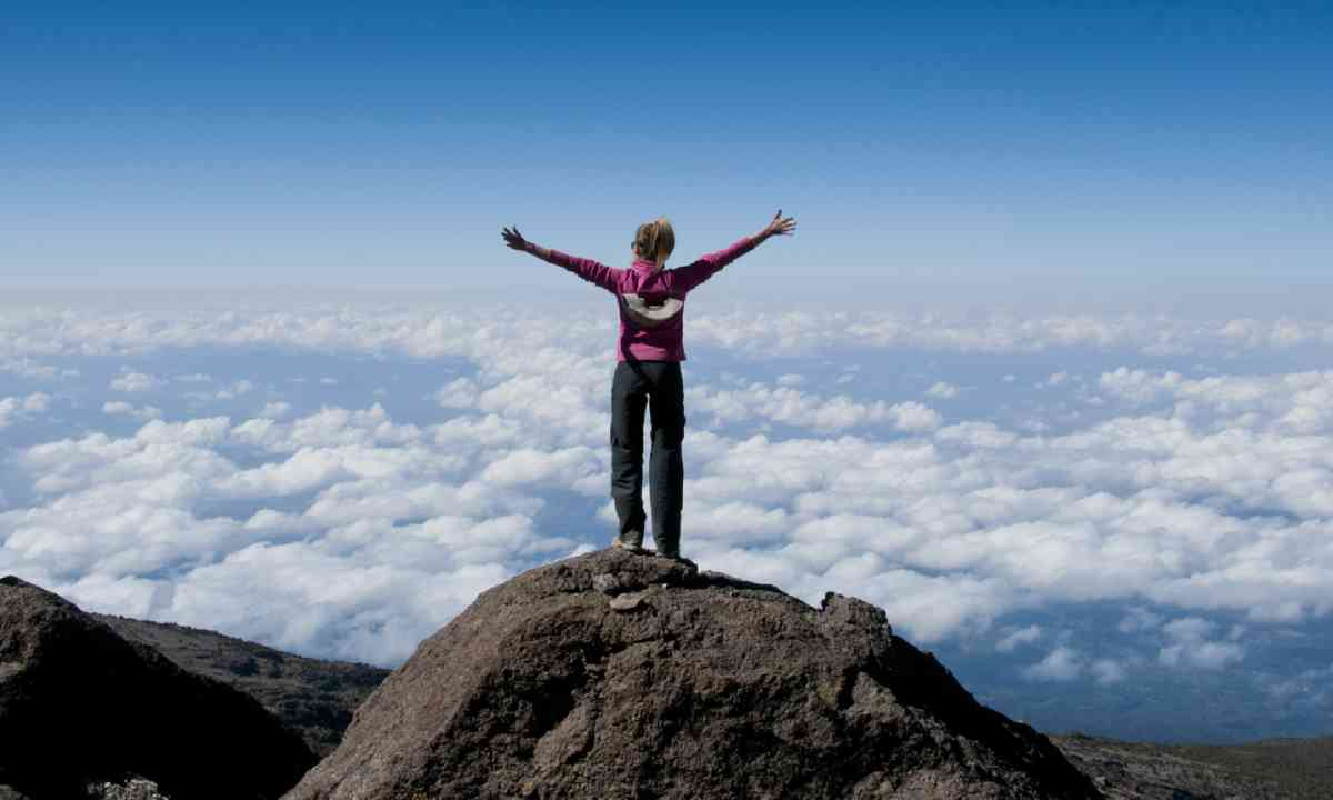 Climber of Kilimanjaro (Shutterstock)