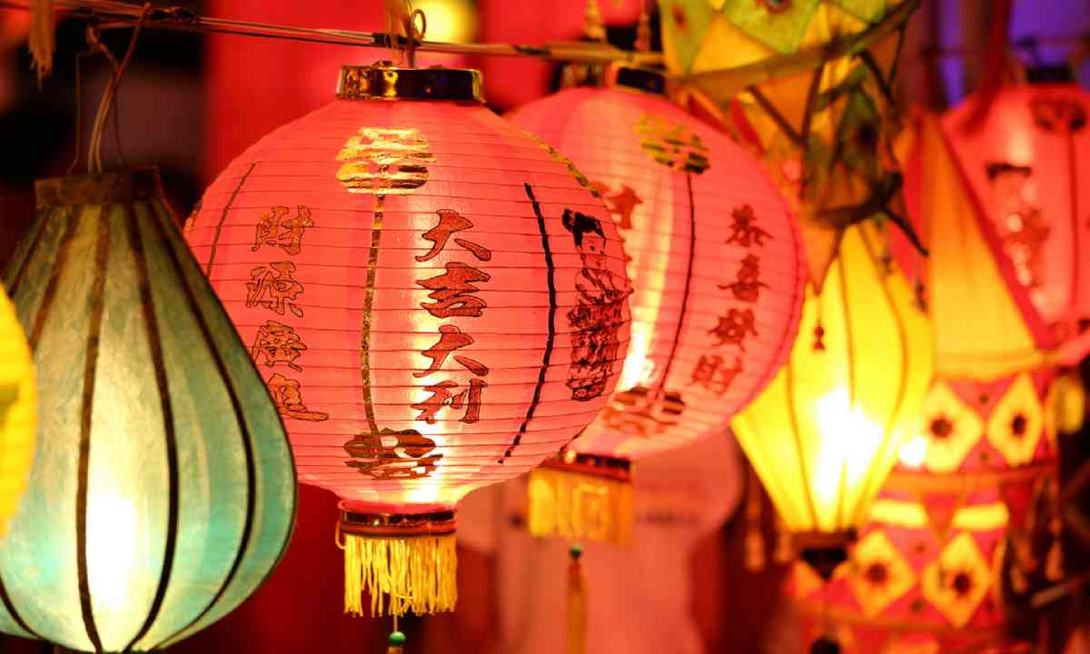Chinese lanterns (Shutterstock)
